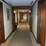 The room corridors