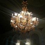zyrandol w teatrze bolshoi