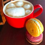 Try a Macaron with a Latte