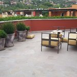 Our private patio, room 302