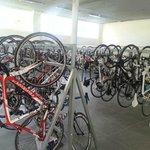 New bicycle garage