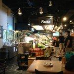 Pasta stall