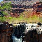Dominguez Canyon waterfalls