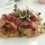 Bubble and Squeak with Ham Hock