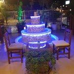 Kalkan's only terrace bar.