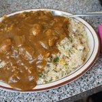 """Fried Rice w/Curry"