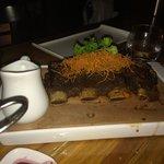 Smoked bison ribs