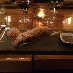 Philo crusted shrimp