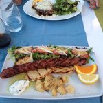 Traditional Greek sausage