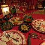 table salades variées