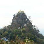 Mt. Popa near Bagan, Myanmar