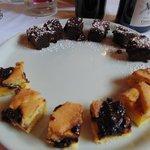 2°(Doppio) DOLCE: CROSTATA CON MARMELLATA DI PRUGNE + TORTA AL CAFFE'