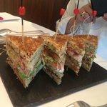 Club sandwich aux homards