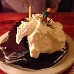 Ski Jump Chocolate Cake - Excellent!