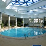 Indoor pool - very nice and warm