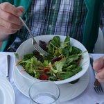 Salat köstliches Dressing