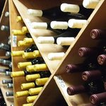 A small portion of our award-winning wine cellar's collection