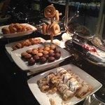 Deliciosa pastelería en el Lounge