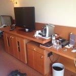 Coffee machine + TV