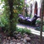 Garden and Botero