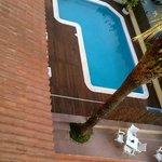 La piscina muy bonita