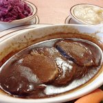 Lunch size sauerbraten