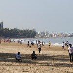 Outside - Juhu Beach