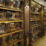 Wall to wall boots!  Best selection I have seen anywhere.