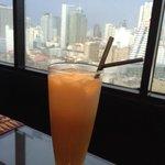 Thai Tea and a view