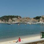 Uitzicht op Port de Soler