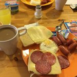 завтрак в хостеле