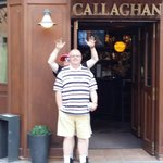 Frontage of callaghans with my dad