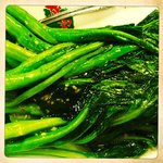 Choy Sum (Green Vegetables) with Garlic
