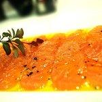 Salmon Marinado a la Naranja