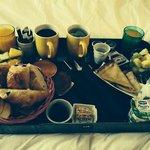 le super petit déjeuner hyper copieux !!!