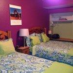 Queen beds- closet