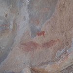 Rock paintings nearby