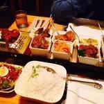 Lekkere rijsttafel