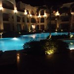 Byblos Pool at night