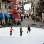 Ice Skating in Lionshead Village