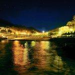 Cala San Vicente in the night
