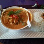 Red Curry, extra spicy