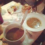 Soupe de poissons de roche/rouille maison