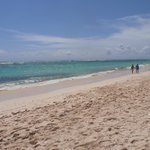 The beautifu Beach and Ocean to relax and play on .....