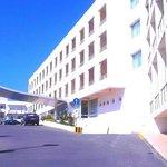 Delantera del hotel