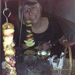Hanging kebabs - yummy