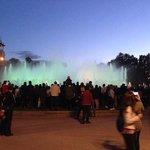 magic fountain カタルーニャMESEUM