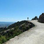 A path near Sant Joan (no guard rails here!)
