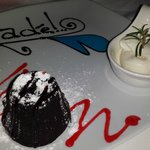 The famous Sade Chocolate Fondant…mouth watering