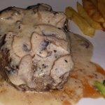 The best steak Ive ever had! Mushroom Fillet Steak